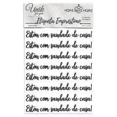 ETIQUETAS DE EMPRÉSTIMO - CALIGRAFIA/MINI